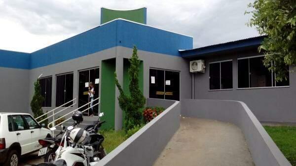 Prédio da secretaria municipal de saúde de Cassilândia. (Foto: Folha Integrassão)