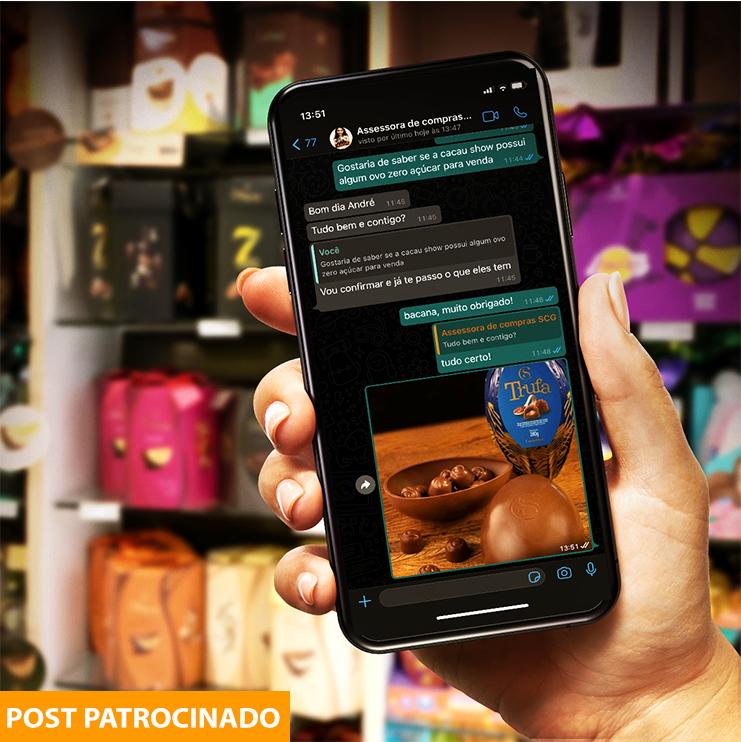 Shopping Campo Grande facilita as compras com uma nova assessoria de Páscoa, oferecendo descontos exclusivos e frete grátis. Foto Divulgação