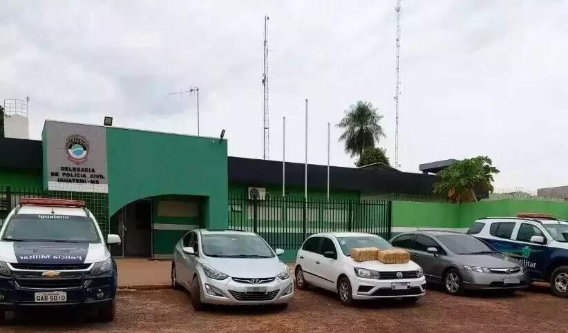 Boletim de ocorrência foi registrado na Delegacia de Polícia Civil de Iguatemi. (Foto: Divulgação)