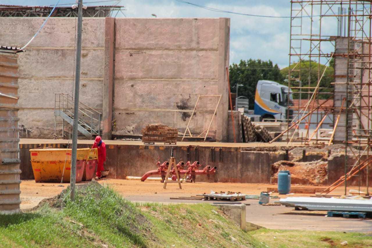 Em foto de janeiro de 2021, local passava por obras para poder reabrir. (Foto: Marcos Maluf/Arquivo)
