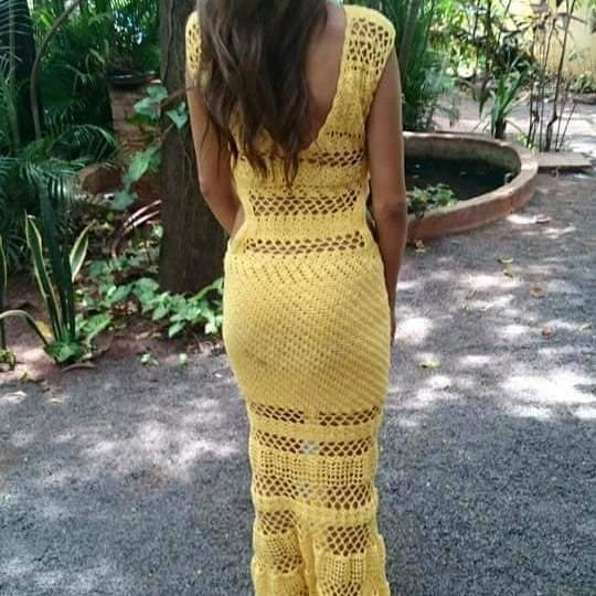 Esse é o vestido que as irmãs procuram. (Foto: Arquivo Pessoal)