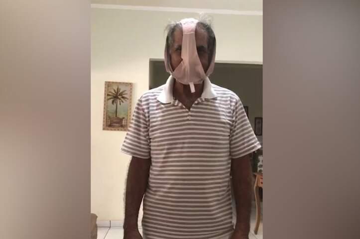 Vídeo de secretário de Coxim ganhou as redes e ele acabou pedindo demissão da função (Foto: Reprodução)