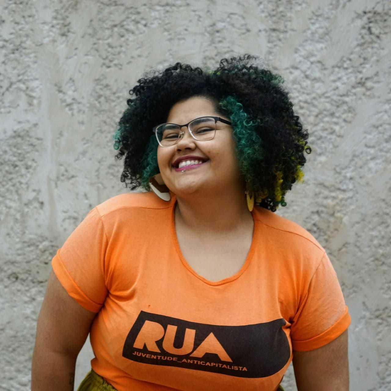 Estudante Agnes Viana também participa da campanha. (Foto: Arquivo Pessoal)