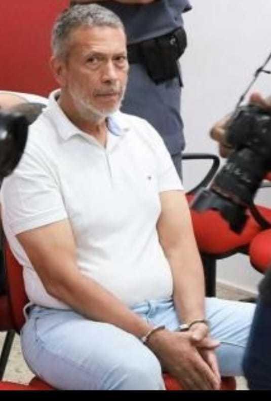 João Arcanjo Ribeiro durante audiência de processo no Mato Grosso. (Foto: Gazeta Digital)