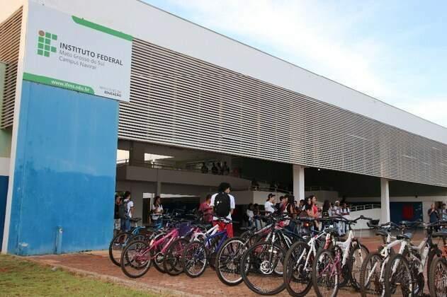 Campus do instituto em Naviraí. (Foto: Divulgação)
