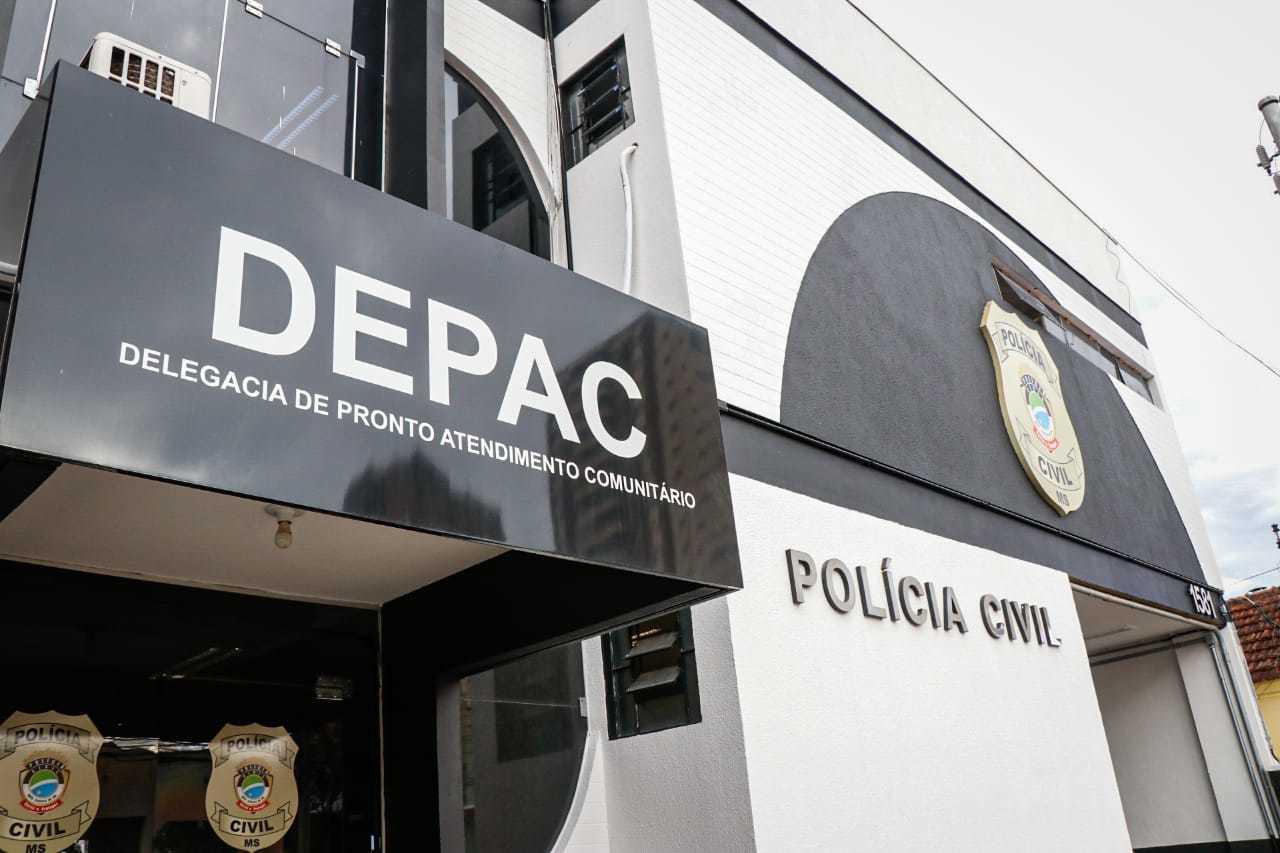 Boletim de ocorrência foi registrado na Depac Centro. (Foto: Arquivo/Henrique Kawaminami)