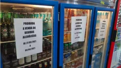 Dez infringem lei seca no 1º fim de semana de decreto em vigor