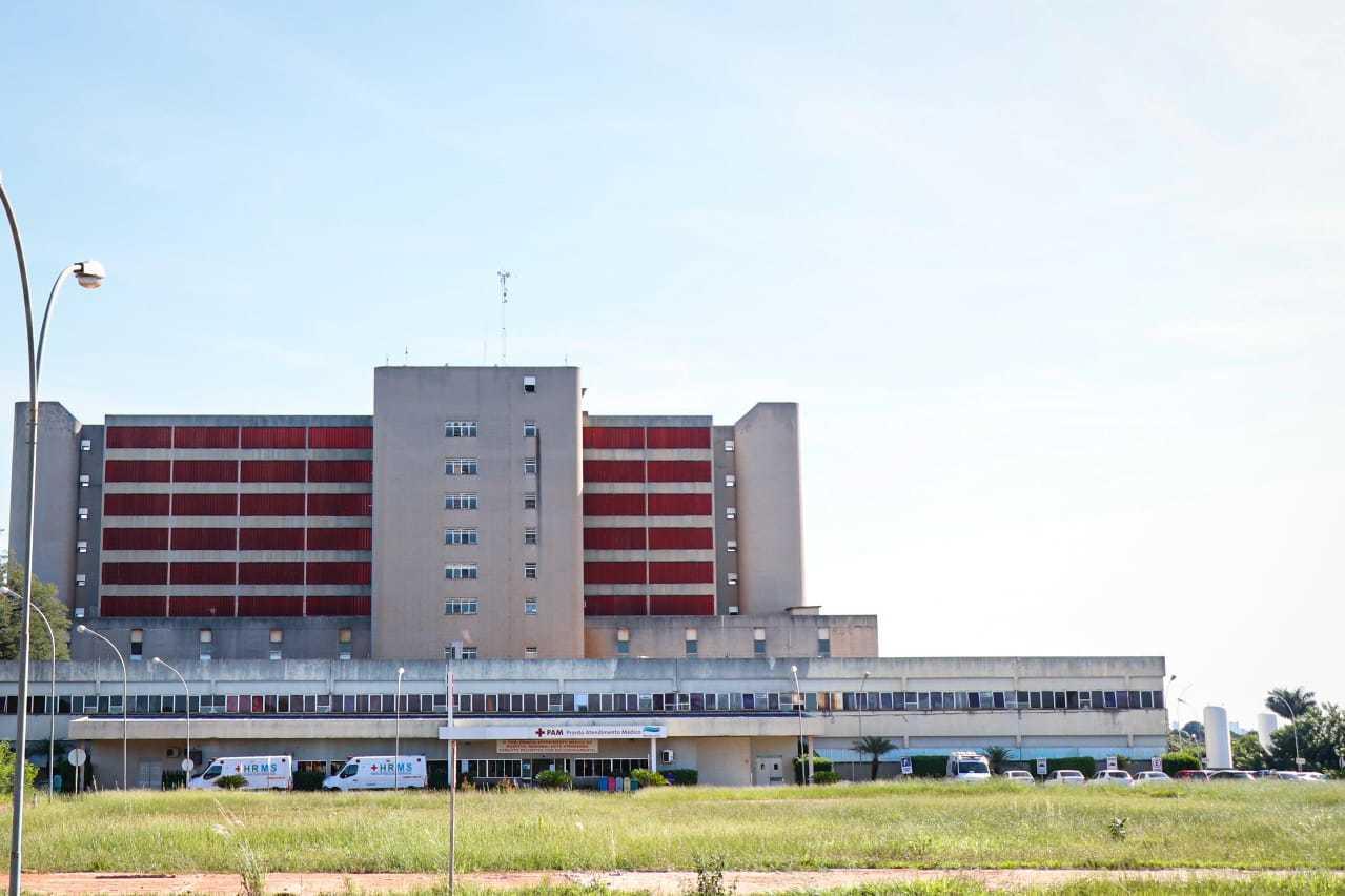 Hospital Regional de Mato Grosso do Sul. (Foto: Henrique Kawaminami)