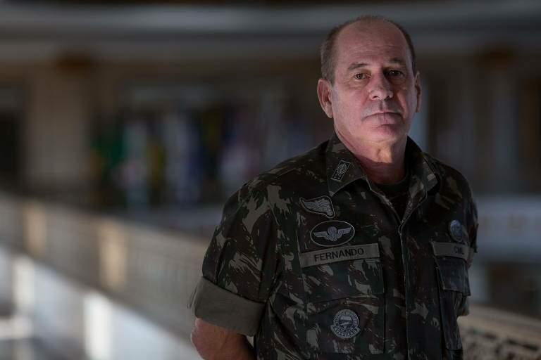 Chefe do Estado Maior do Exército da reserva, Fernando Azevedo e Silva deixou hoje o ministério da Defesa (Foto Folhapress)