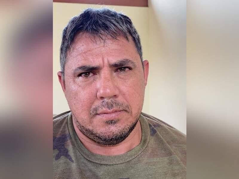 """Jorge Samudio, o """"Samura"""", no momento em que foi preso ontem (Foto: Divulgação)"""