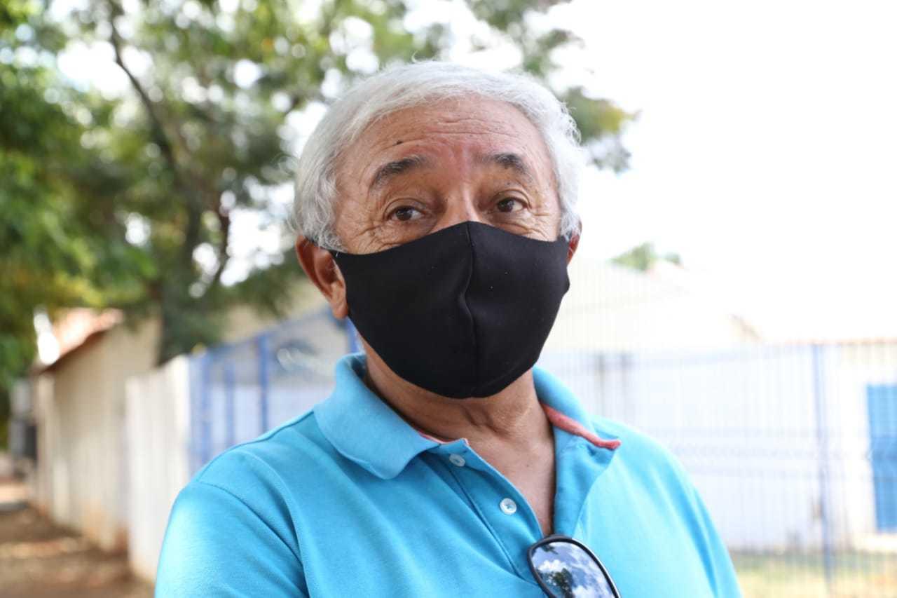 Sidney Lima de Carvalho também esteve na unidade de saúde. (Foto: Kísie Ainoã)