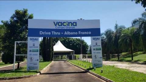 Novo drive-thru de vacinação no Albano Franco será aberto na próxima quarta