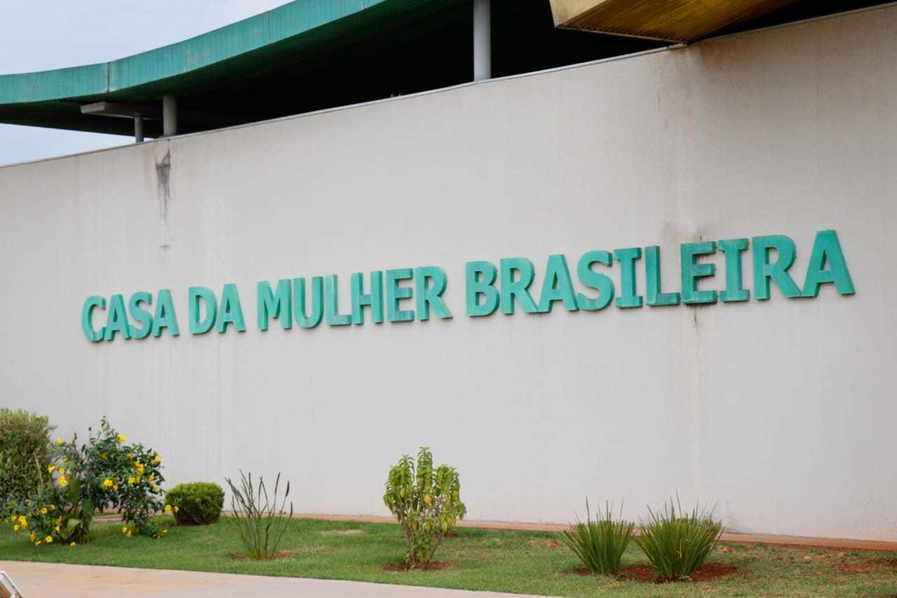Fachada da Casa da Mulher Brasileira onde fica a Deam. (Foto: Henrique Kawaminami)