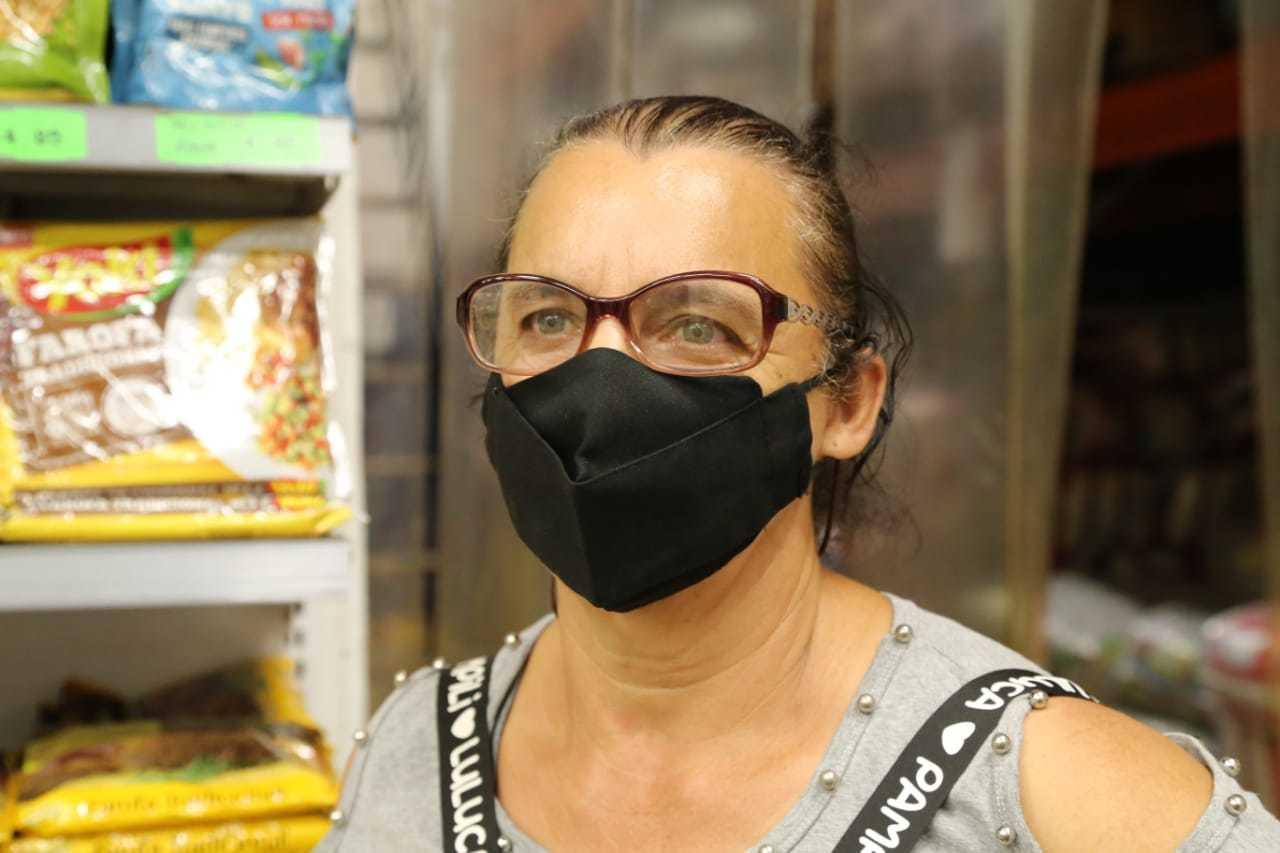 Dilma lembra com saudade de quando a família comia mais de 30 quilos de arroz.