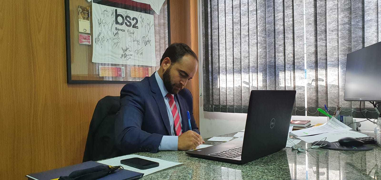 Vereador João César Mattogrosso (PSDB) deve assumir a Secretaria de Estado de Cidadania e Cultura e coordenar oito subsecretarias (Foto Divulgação)