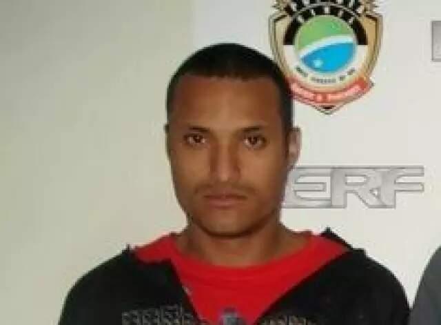 Cirilo em foto de 2015, quando foi preso por esfaquear segurança de loja. (Foto: Arquivo/Campo Grande News)