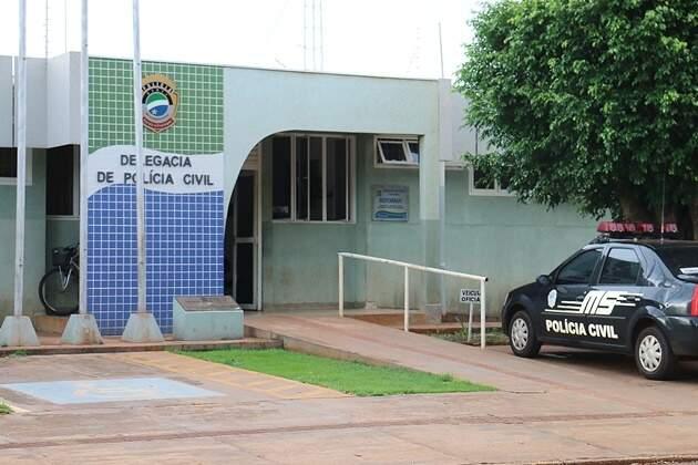 O caso foi registrado na Delegacia de Polícia Civil de Sidrolândia. (Foto: Divulgação)