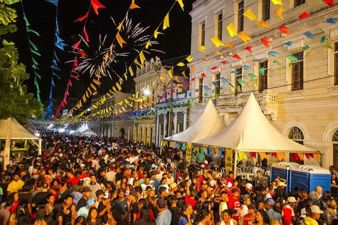 O Banho de São João, a mais tradicional festa junina de Mato Grosso do Sul, todo ano atrai turistas de várias partes do Brasil (Foto: Reprodução)