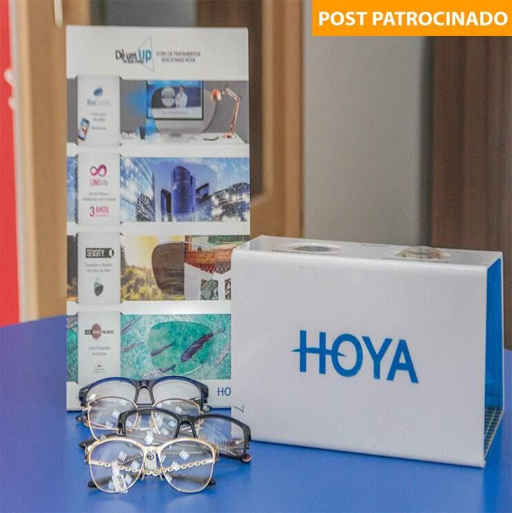 As lentes Hoya saem pela metade do preço. (Foto: Paulo Francis)