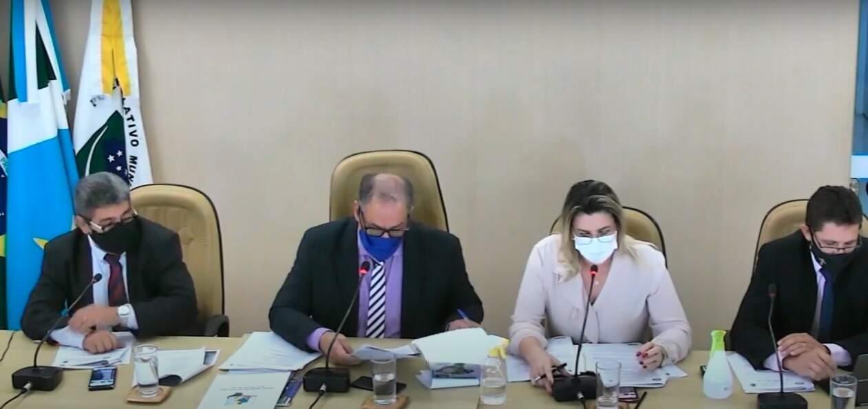 Projeto foi aprovado em sessão realizada nesta segunda-feira na Câmara de Vereadores de Costa Rica(Foto: Reprodução/Câmara de Vereadores)