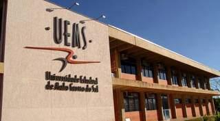 Sede da Uems em Dourados (Foto: Divulgação/Uems)