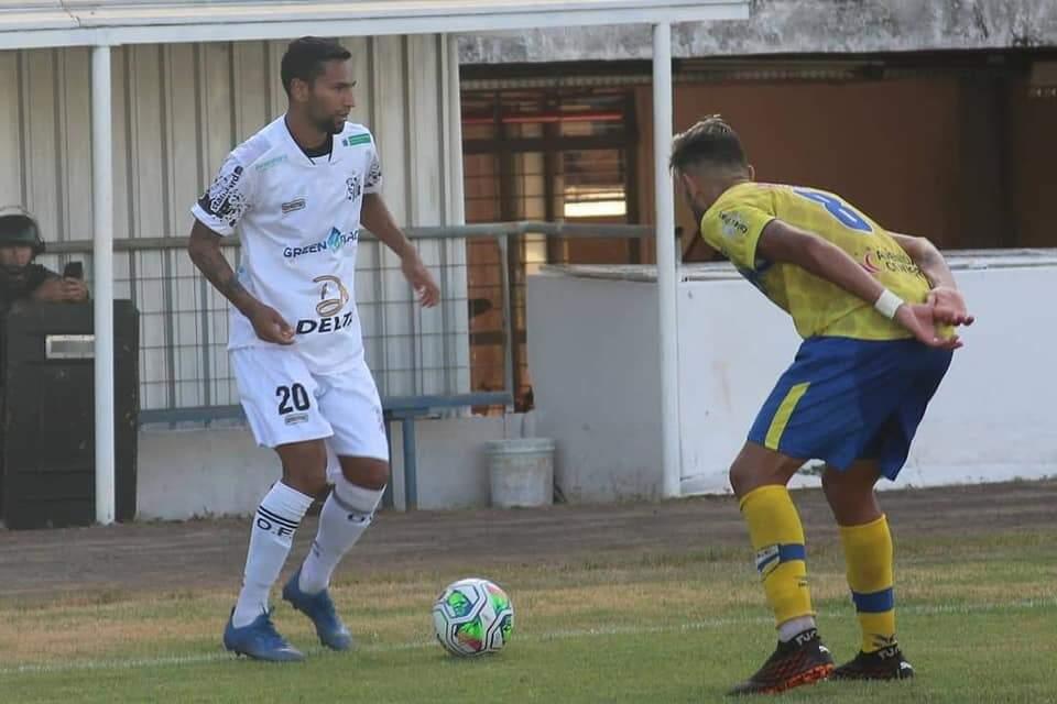 Lance de Operário x Dourados, em Campo Grande, pela primeira fase (Foto: Rodrigo Moreira/Operário FC/Divulgação)