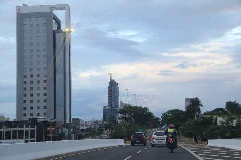 Tempo segue nublado e instável em Mato Grosso do Sul