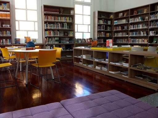 Biblioteca do Sesc Cultura em Campo Grande (Foto: Divulgação/Sesc Cultura)