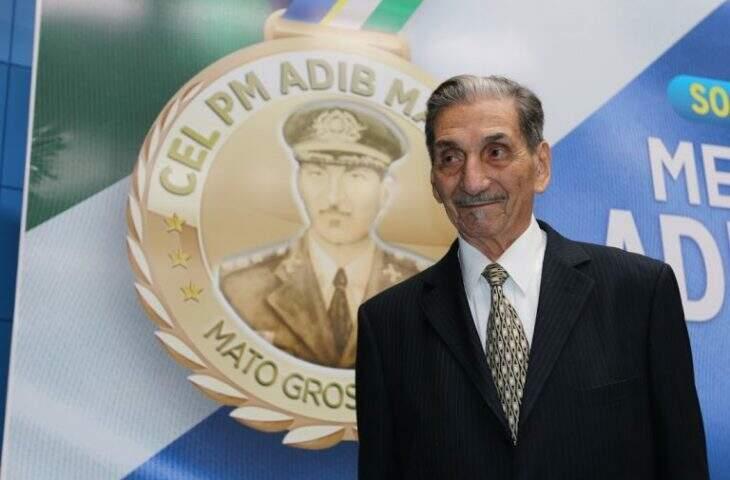 O coronel Adib Massad, falecido em março deste ano. (Foto: Divulgação)