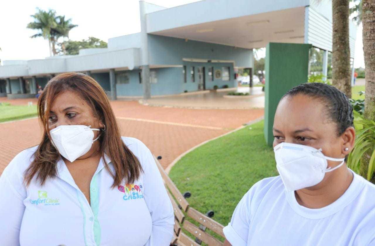Zuleite e Sandra Cristina trabalharam por 11 anos com o médico. (Foto: Paulo Francis)