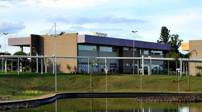 Campus da Uems, em Campo Grande. (Foto: Uems)