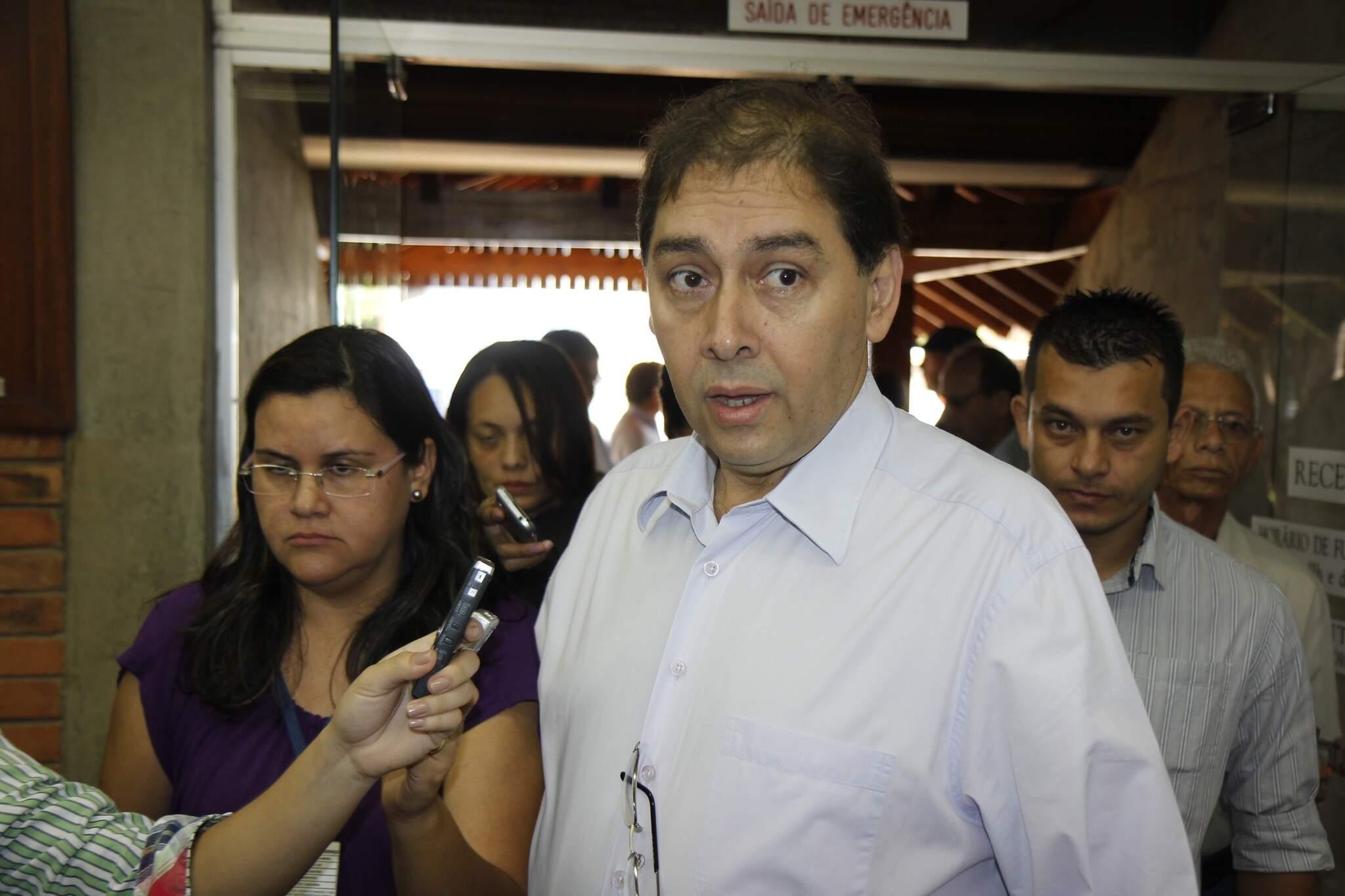 Denúncia contra Alcides Bernal é por contrato com a empresa Mega Serv. (Foto: Arquivo)