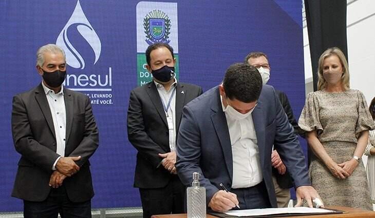 Contrato de Parceria Público Privada foi assinado em fevereiro. (Foto: Divulgação)