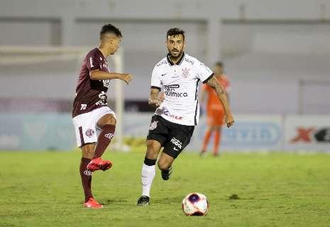 Corinthians só empata com São Bento, devendo futebol na volta à Neo Química