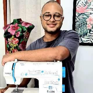 Para os pequenos, oficina ensina a fazer de avental sem sair de casa