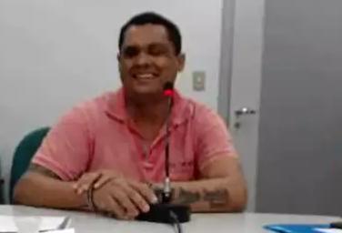 Tiago Paixão Almeida, 34 anos, durante interrogatório judicial. (Foto: Reprodução de vídeo)