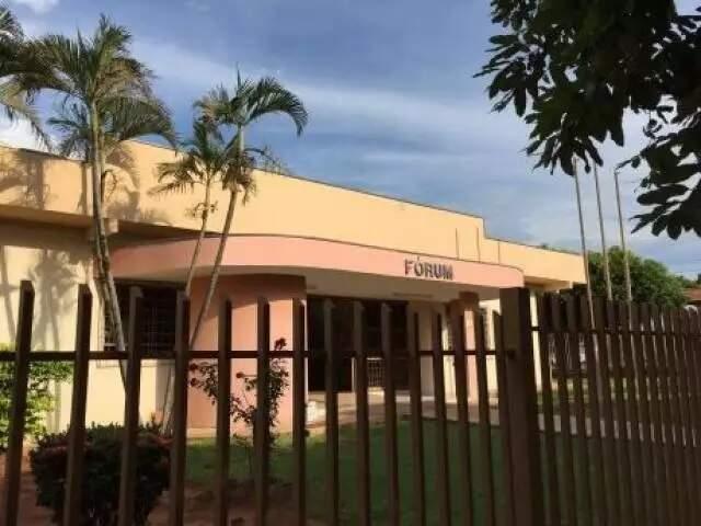 Fórum de Cassilândia. (Foto: Divulgação)