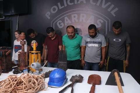 MP pede condenação de 7 integrantes de quadrilha por túnel até Banco do Brasil