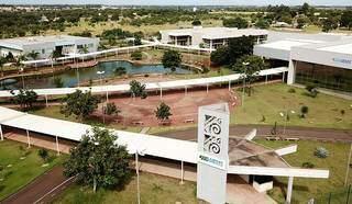 Campus da Universidade Estadual de Mato Grosso do Sul em Campo Grande. (Foto: Divulgação)