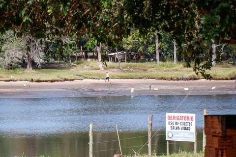 Apesar do nível baixo, manutenção em lago não causou dano, avalia Semadur