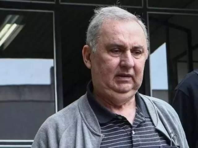 José Carlos Bumlai após passar por exame no Instituto Medico Legal (IML), em Curitiba, em 2019 (Foto/Arquivo: Geraldo Bubniak / Agência O Globo)