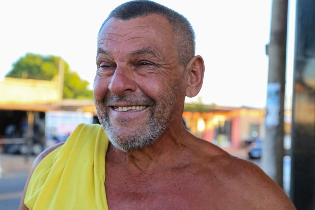 Antonino é mais um das dezenas de pessoas que souberam da fake news (Foto: Kísie Ainoã)