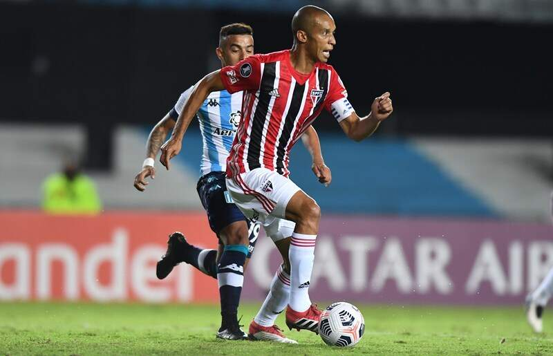 Lance do jogo desta noite na Argentina. (Foto: Staff Images / CONMEBOL)