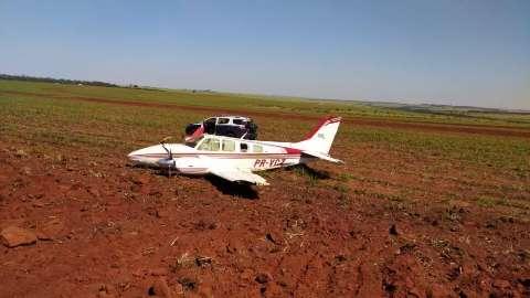PF caça traficantes responsáveis por avião que fugiu de intercepção da FAB
