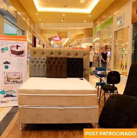 Feirão Compre e Leve colchão de massagem: de R$ 2.990 por R$ 1.590
