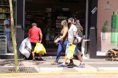 Vendas no varejo em Mato Grosso do Sul registra pequena queda em março