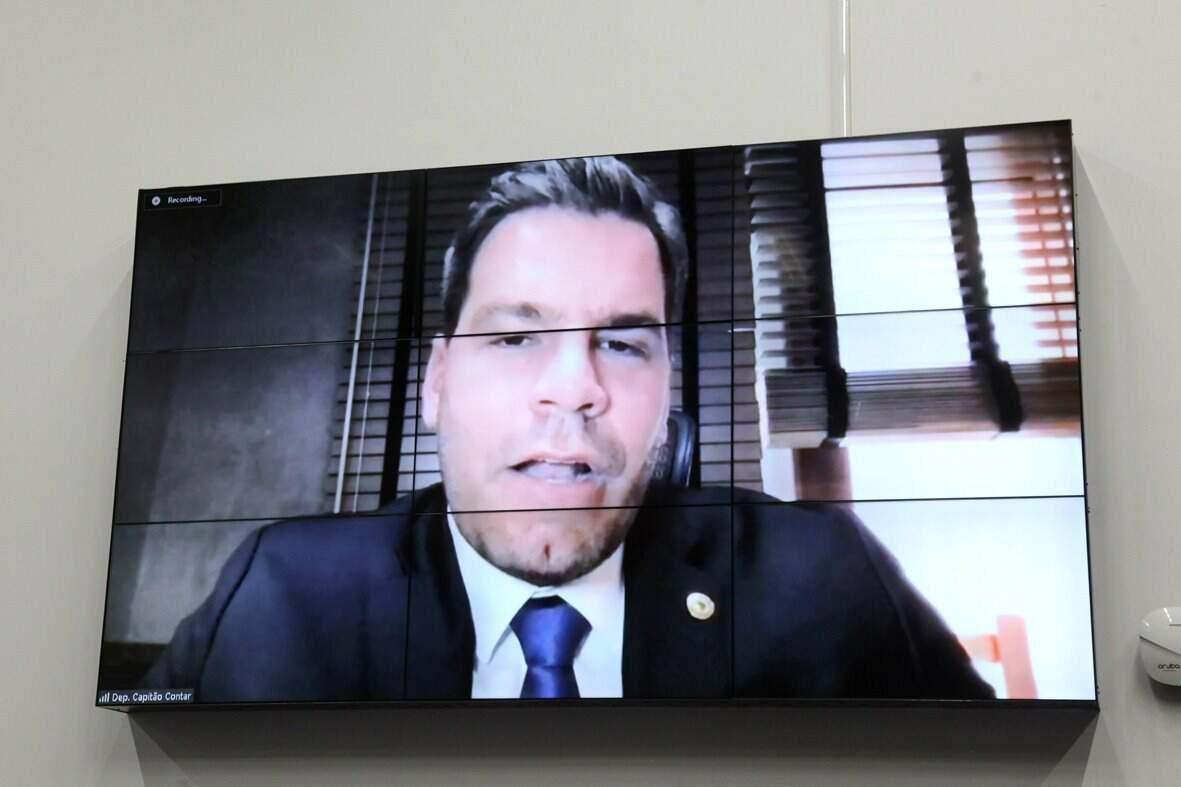 """Apesar de postar que está """"junto com Bolsonaro"""", deputado estadual Renan Contar (PSL) vai analisar se partido escolhido por presidente estará em boas mãos no Estado (Foto Assembleia Legislativa)"""