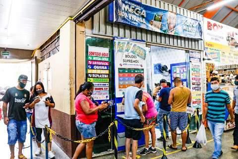 Três apostas no interior de MS faturam R$ 30,9 mil na quina