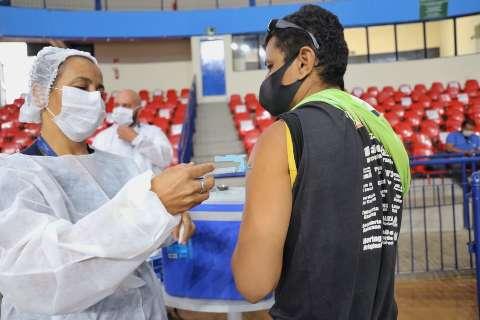 Brasil tem 35,23 milhões de vacinados contra covid em 1ª dose; 16,6% do total