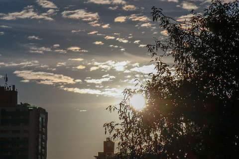 Sábado será de sol, mas temperatura não passa dos 28ºC na Capital